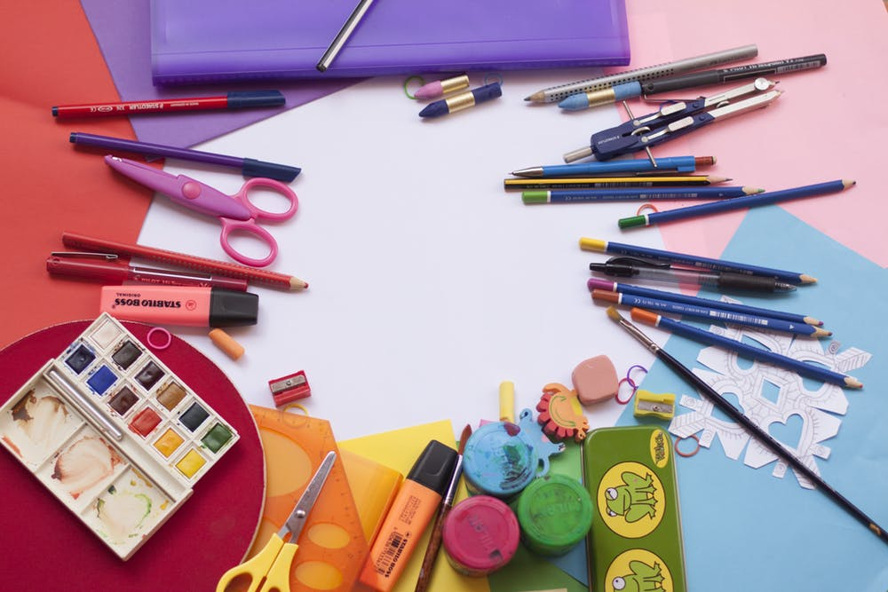 products of stationery business