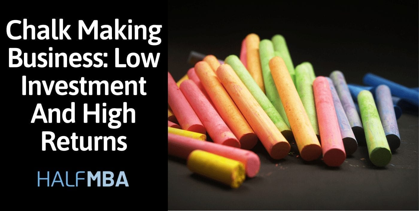 Chalk Making Business: Low Investment And High Returns 12