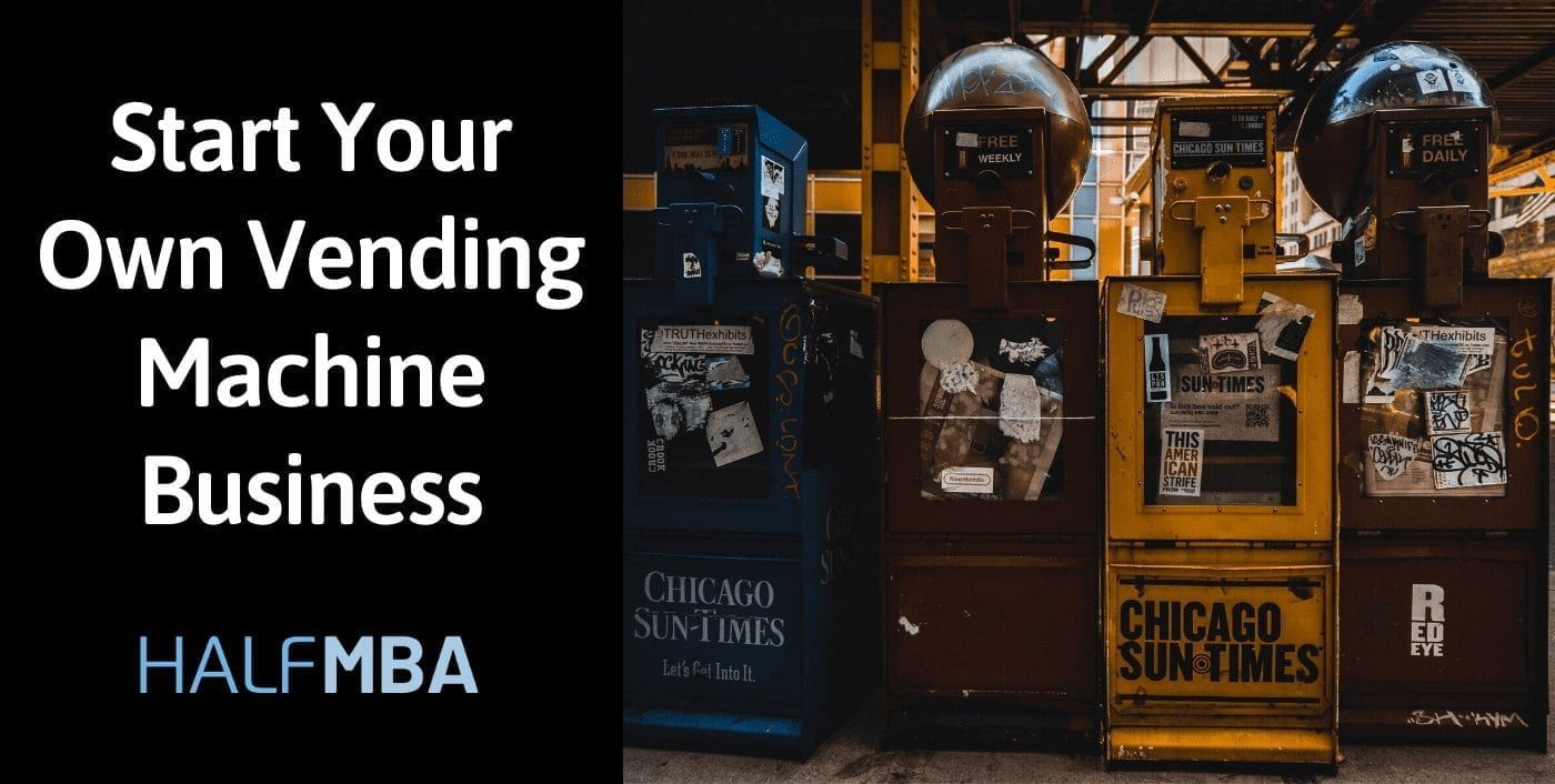 Start Your Own Vending Machine Business In India