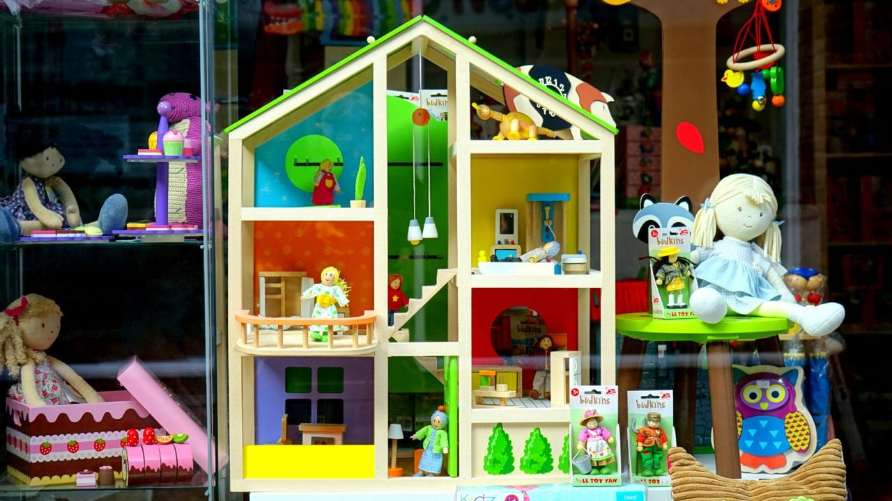 Toys and toy house