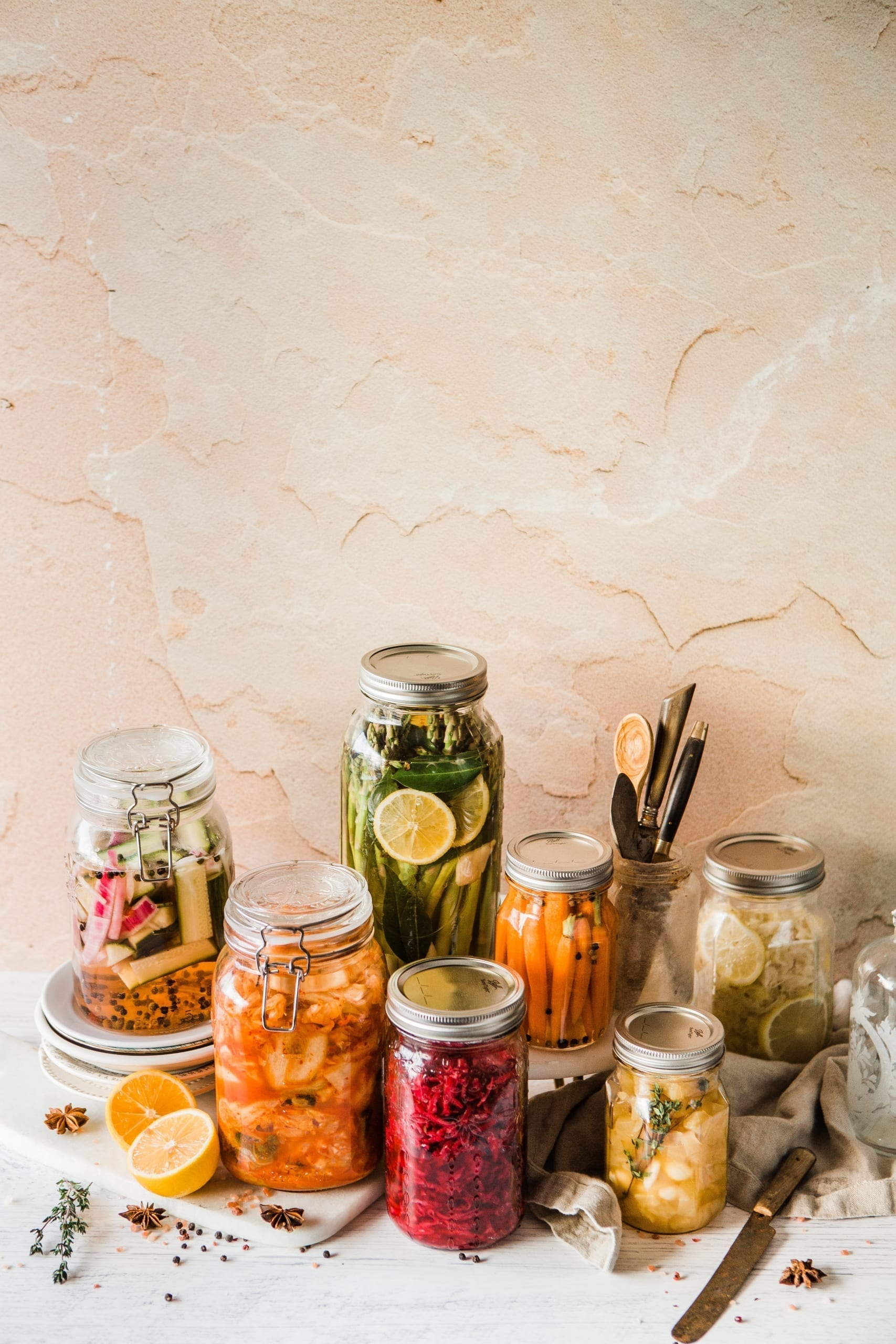 ingredients of homemade pickles