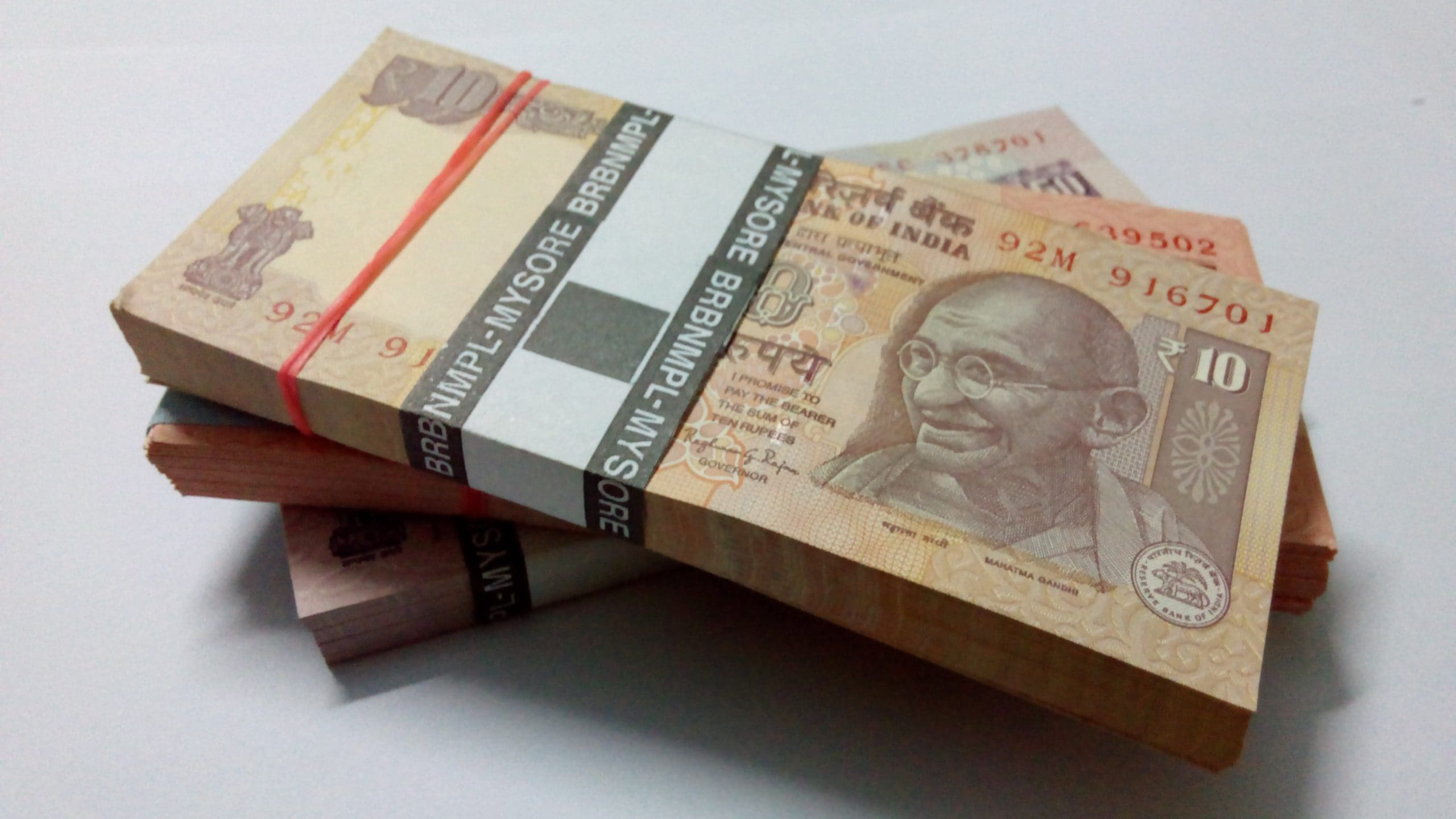 rupee for government funding schemes